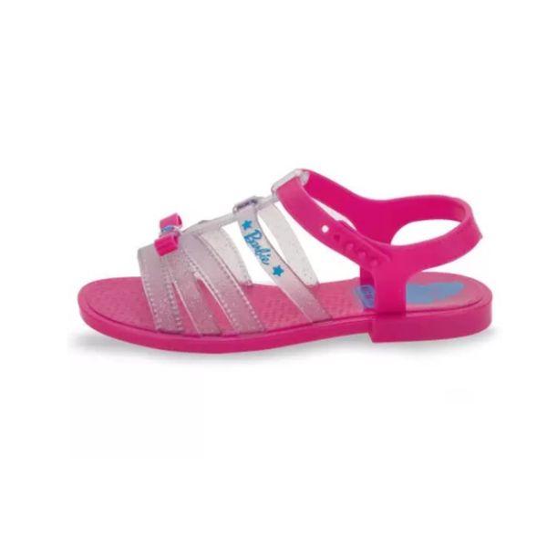 Sandália Infantil Grendene Barbie Pink Car 22166 ROSA 25